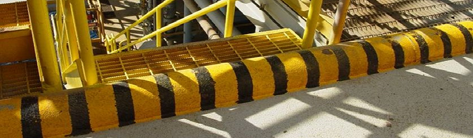 Yellow Black Stairs